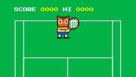 Juega al tenis con el nuevo huevo de pascua de Google
