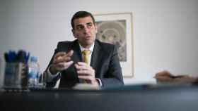 El director general de Arquia, Javier Ventura, durante la entrevista con EL ESPAÑOL.