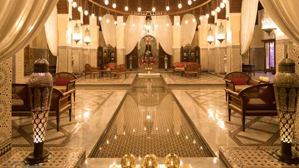 Hotel Royal Mansour.
