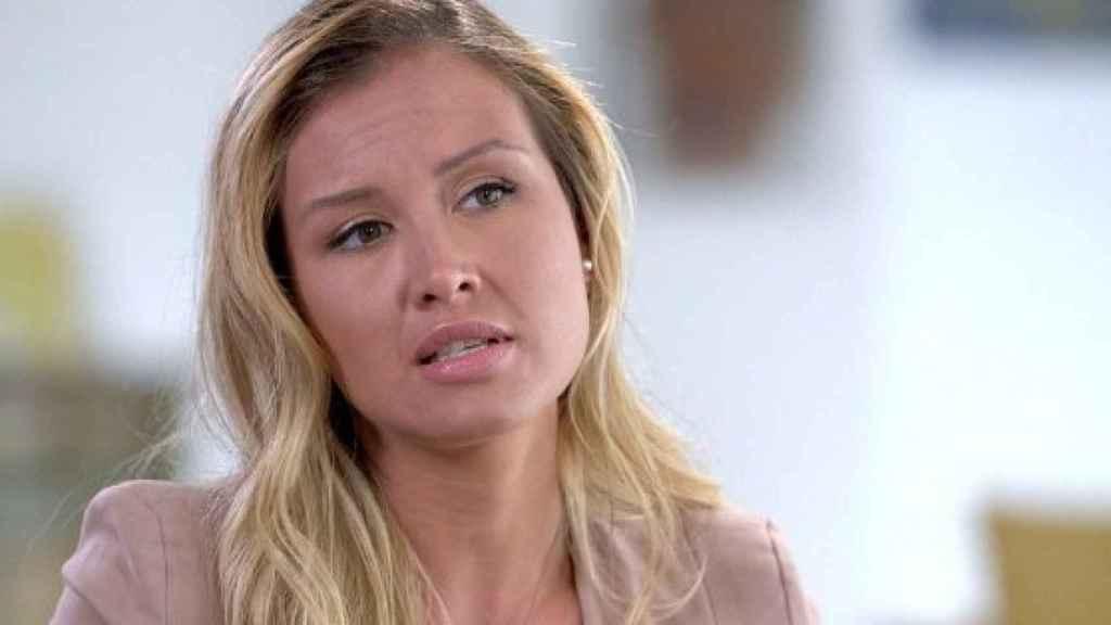 Jennifer Araoz, una de las mujeres que ha acusado a Epstein de violarla.