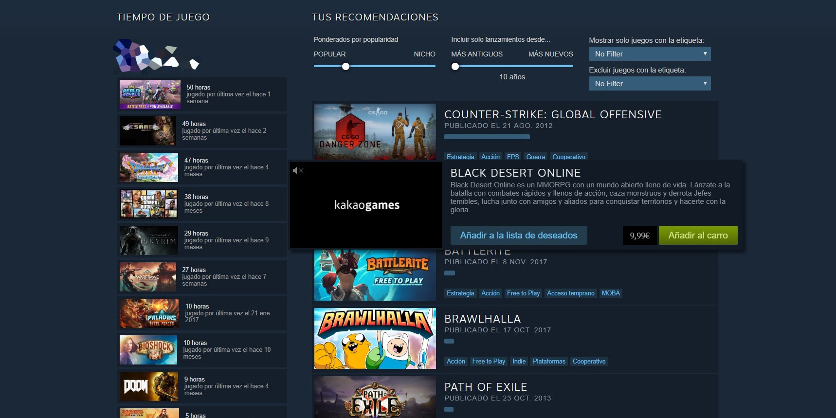 Recomendador Steam 3