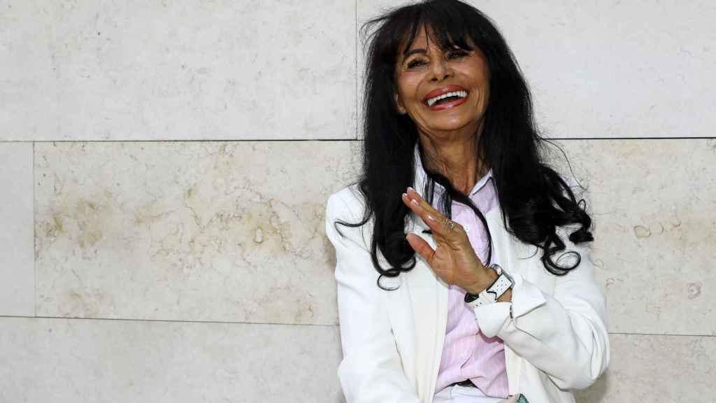 María Edite a las puertas de los juzgados de Valencia.