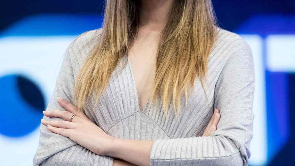 La modelo Ángela Ponce.