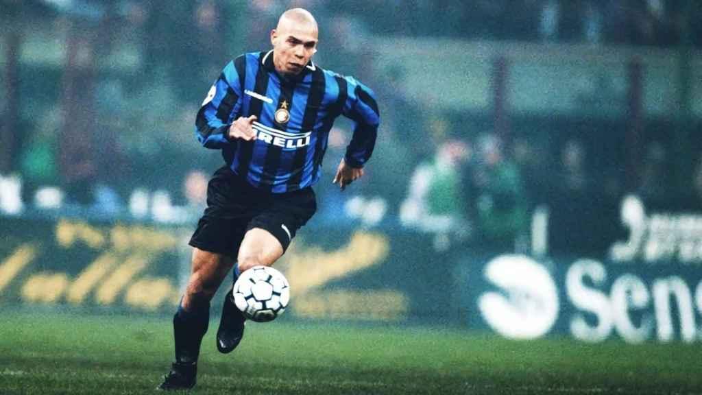 Ronaldo Nazario, en el Inter