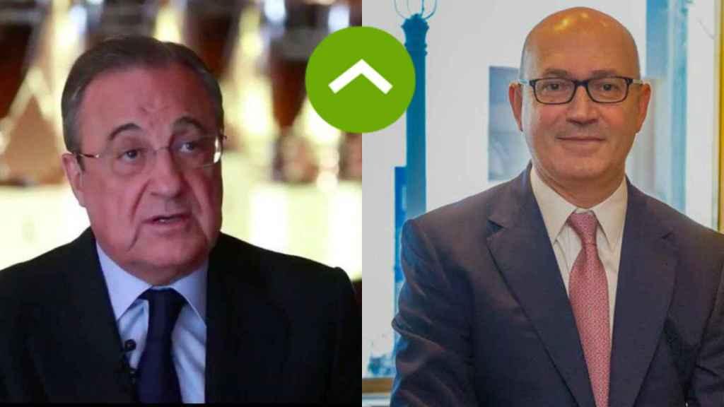 COMO LEONES: Florentino Pérez (ACS) y Jesús Nuño de la Rosa (El Corte Inglés)