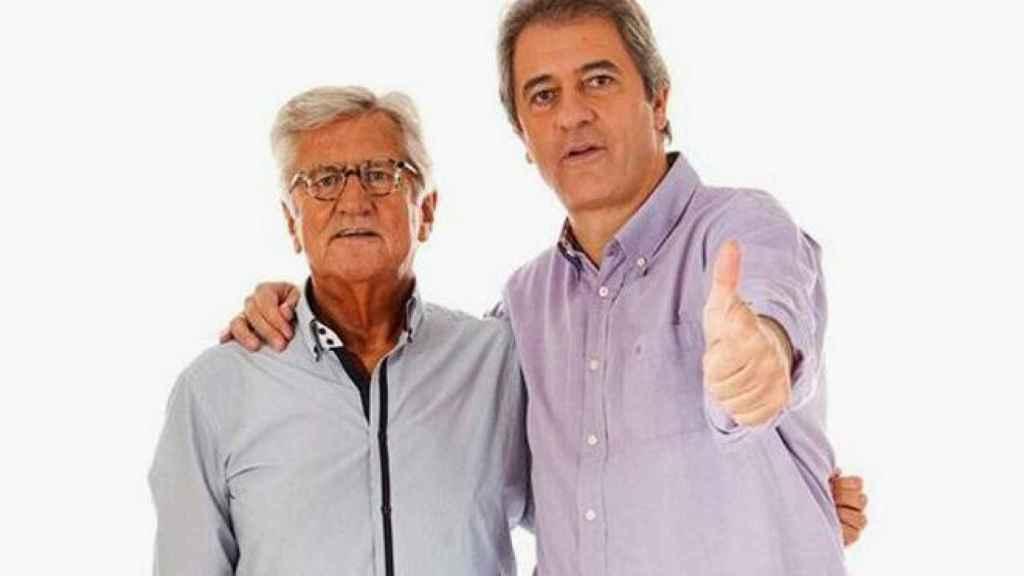 Pepe Domingo Castaño y Manolo Lama.