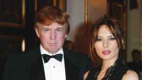 Donald Trump y Melania.