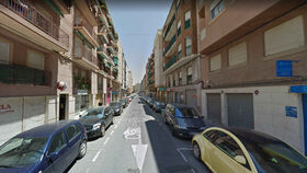La calle donde ocurrieron los hechos.