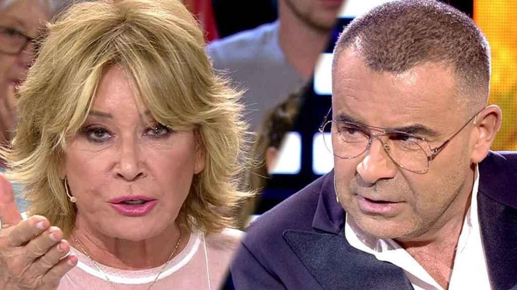 Mila Ximénez y Jorge Javier Vázquez (Telecinco).