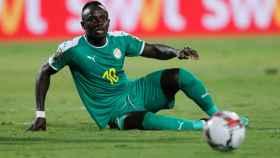 Sadio Mané, en la Copa África 2019 con la selección de Senegal