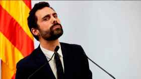 Roger Torrent (ERC), presidente del Parlamento catalán, en una foto de archivo.