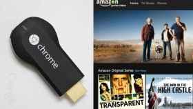 Amazon y Google firman la paz: 'Prime Video' ya es compatible con Chromecast