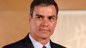 Pedro Sánchez, presidente del Gobierno en funciones, minutos antes de su última reunión con Pablo Iglesias.