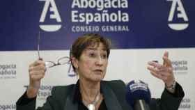 Victoria Ortega, presidenta de la Abogacía.