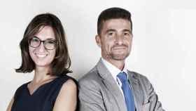 Ana Brotons, directora técnica, y Mariano Oto, CEO de Nucaps.