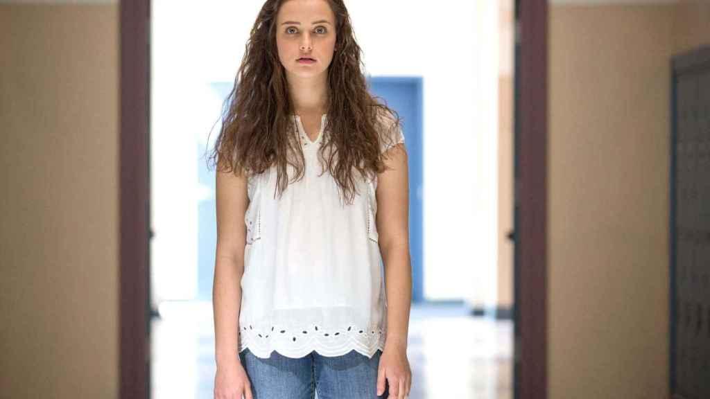 Katherine Langford como Hannah Baker en la primera temporada de 'Por trece razones'.