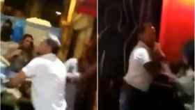 Brutal pelea a las puertas de una discoteca de La Coruña.