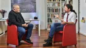 Ferreras e Iglesias durante la entrevista de este martes en laSexta