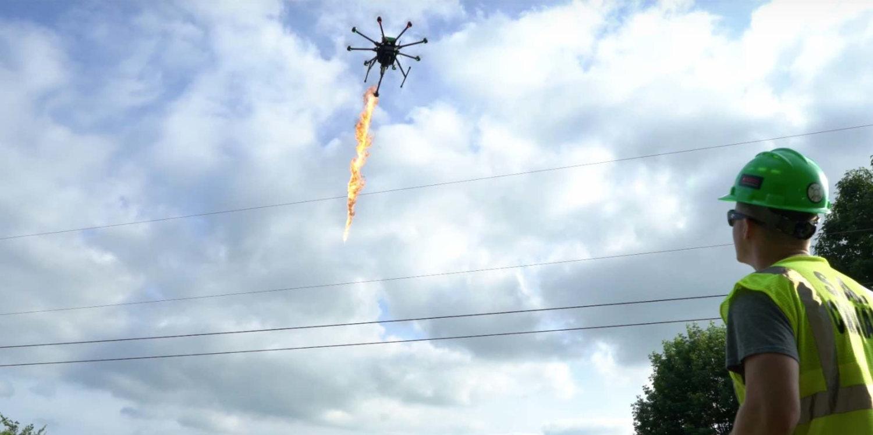 lanzallamas dron 2