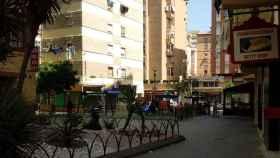 La zona de La Unión, en Málaga, donde se han producido los hechos.