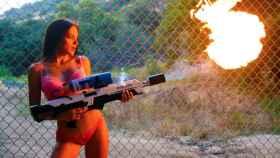 El lanzallamas fabricado por los Escobar