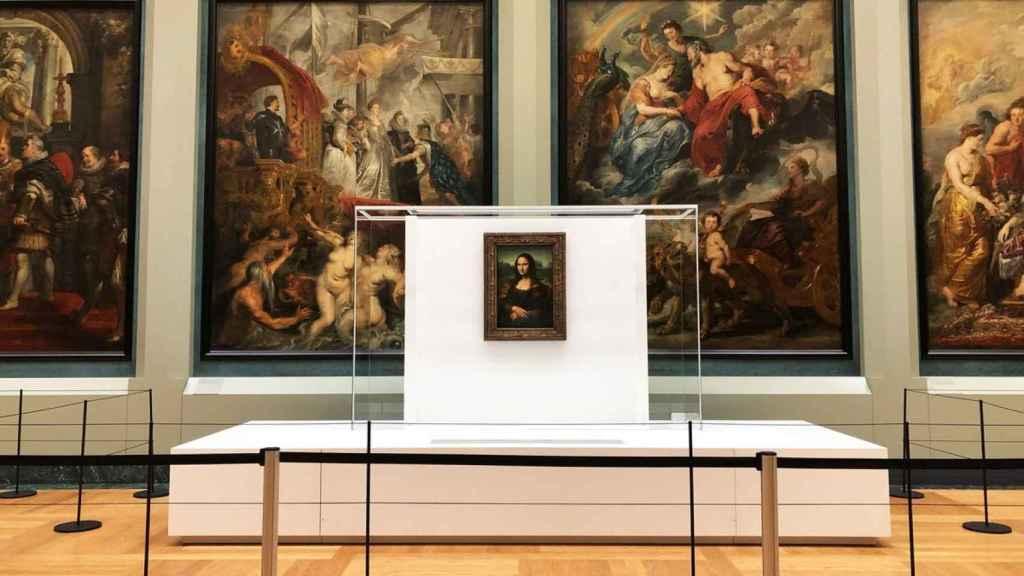 La nueva ubicación de la Mona Lisa es la Galería Médicis.