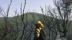 112 bombero forestal incendio