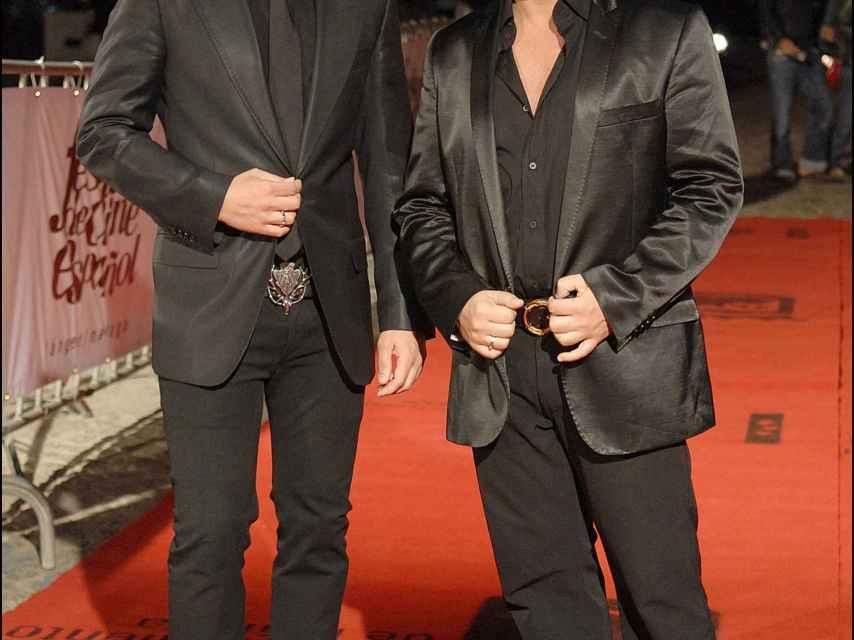 Nacho Polo y Víctor Sandoval en una imagen de archivo.