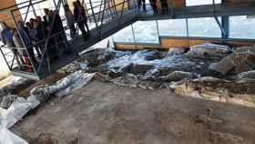 Restos arqueológicos de la villa romana de Nohedas