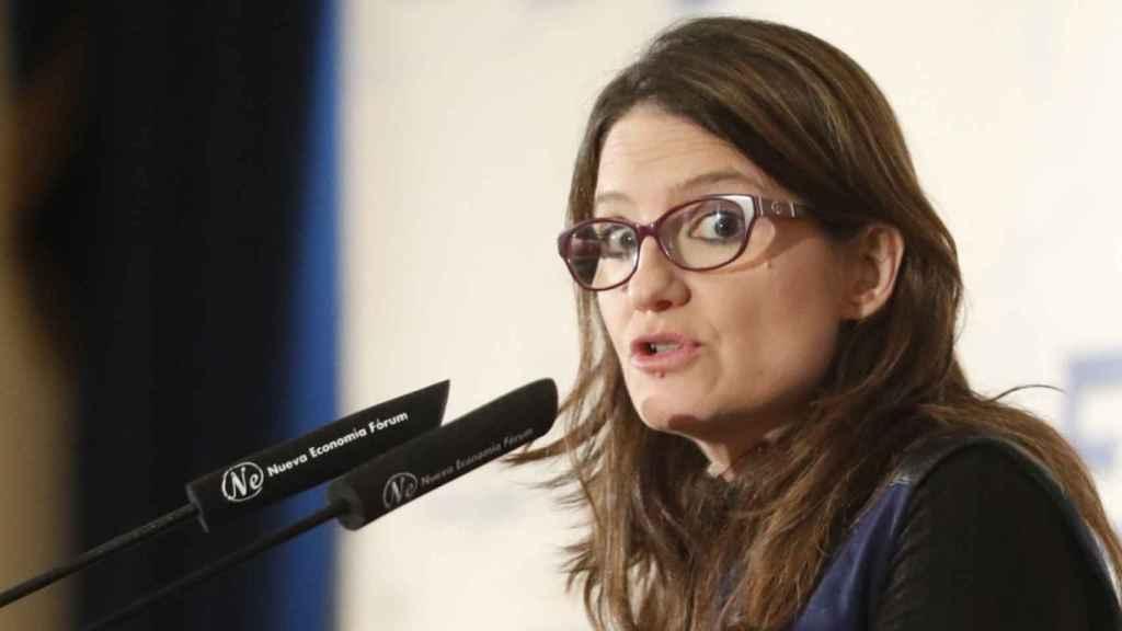 La vicepresidenta del Gobierno de Valencia, Mónica Oltra.