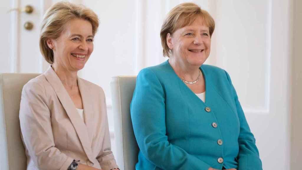 Ursula, 'hija' política de Angela Merkel.
