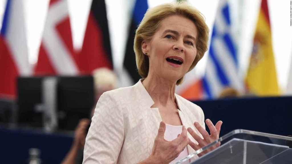 Ursula, nombrada presidenta de la comisión europea.