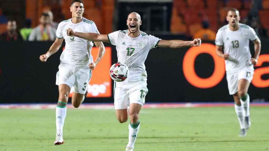 Final de la Copa África entre Senegal y Argelia