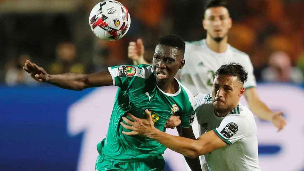 La final de la Copa de África entre Senegal y Argelia