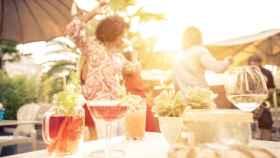 ¿Quién dijo que en verano no se bebe vino?