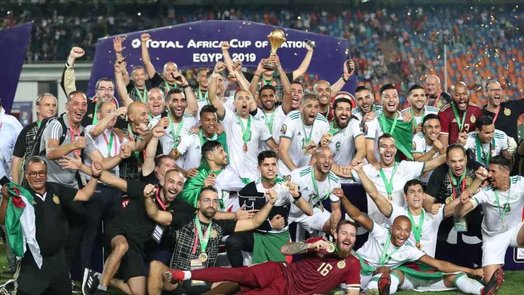 Argelia levanta la Copa de África 2019