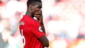 Paul Pogba con el Manchester United