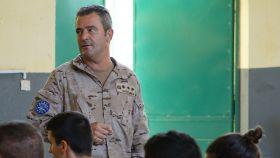El coronel Javier Alonso-Miñón, jefe de Estado Mayor del Cuartel General de la Misión en Mali.