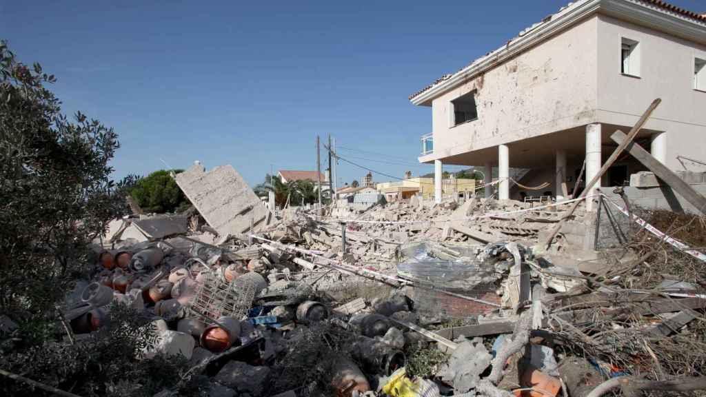 Casa ocupada que sirvió de base para la célula yihadista