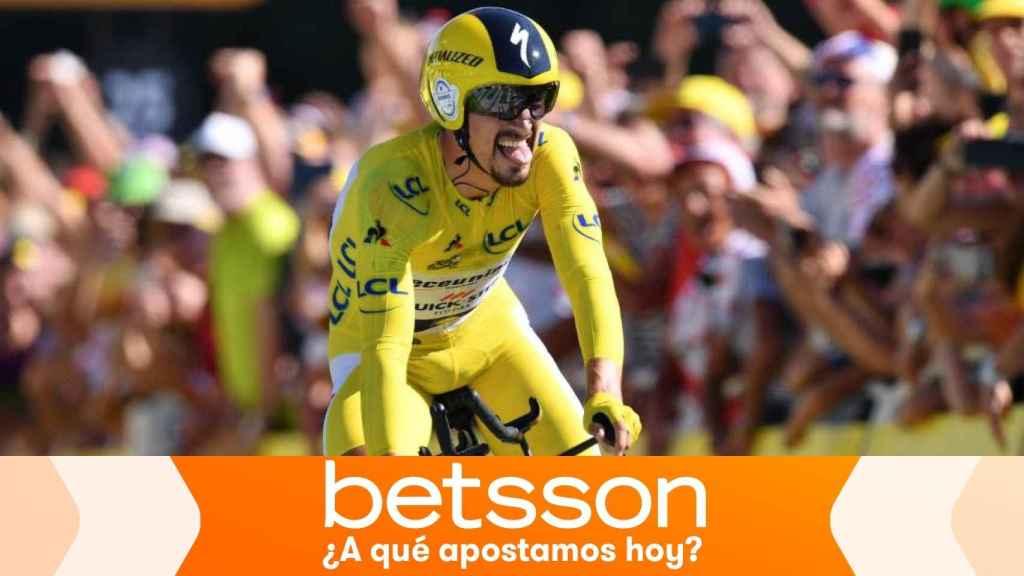 Dobla tu apuesta si Alaphilippe gana el Tour de Francia