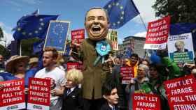 Manifestación contra el Brexit en Londres.