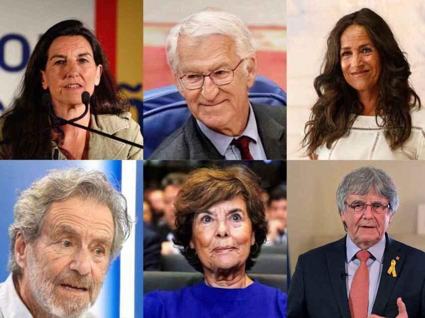Algunos políticos españoles, tras pasar por el filtro de envejecimiento de FotoAPP.