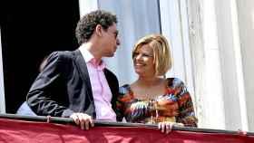 El abogado Salvador Pérez junto a Terelu Campos en 2010.