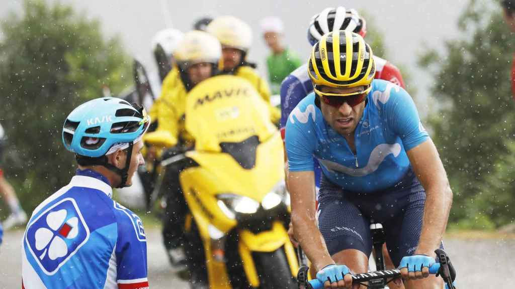 Mikel Landa, en la 15ª etapa del Tour de Francia