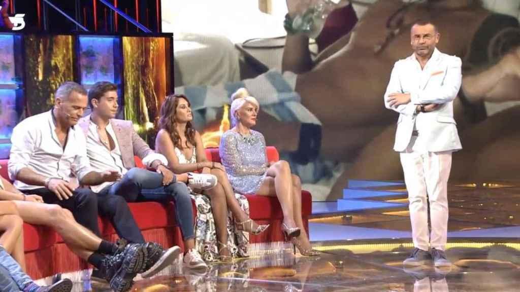 Jorge Javier ha protagonizado una fuerte discusión con Carlos Lozano en el último debate de 'Supervivientes 2019'.
