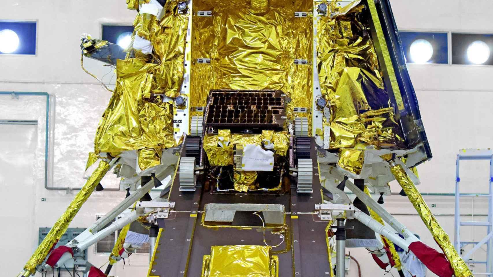 La sonda Chandrayaan 2.