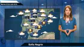 El tiempo: pronóstico para el martes 23 de julio