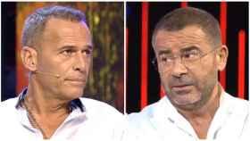 Jorge Javier Vázquez y Carlos Lozano en un montaje.