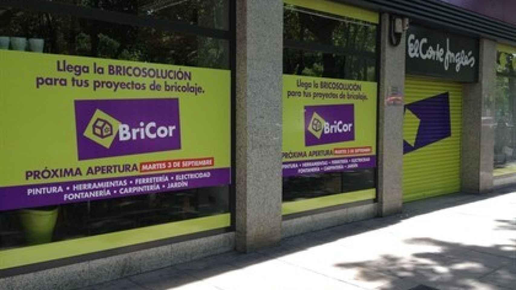Una imagen de archivo de una tienda Bricor.
