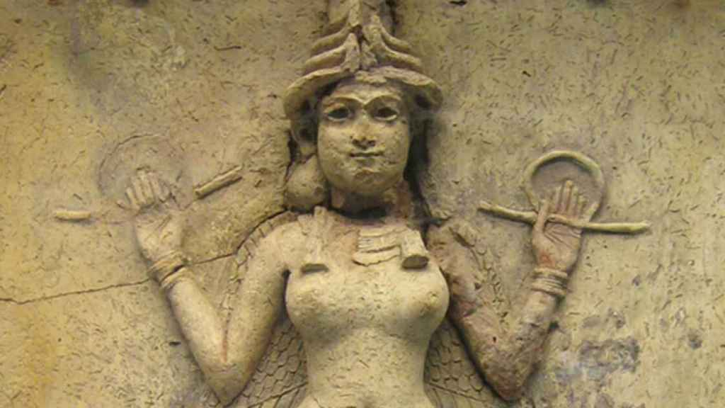 Representación de la diosa Inanna.